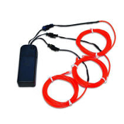 Electroluminescent Wires - Red